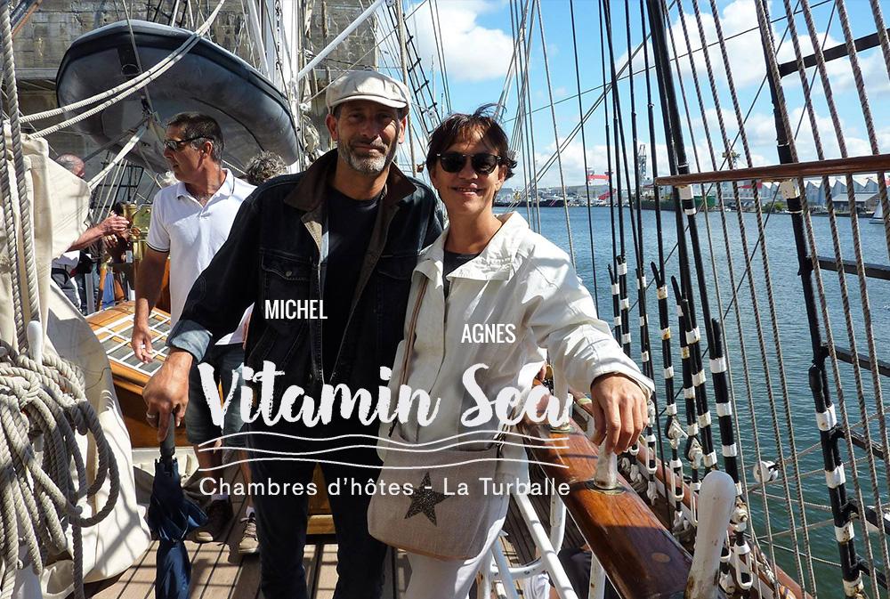 Vitamin Sea respecte votre indépendance pour que vous viviez un séjour à votre rythme.